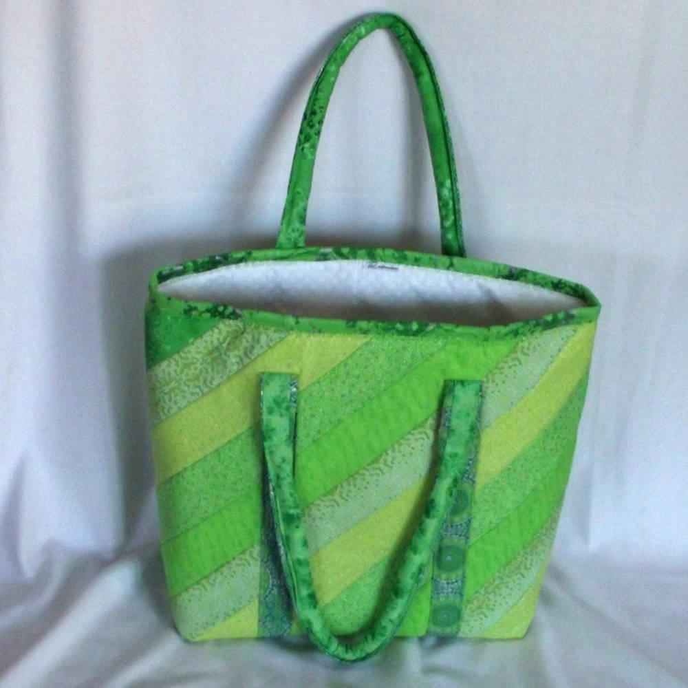 20401 back green tote