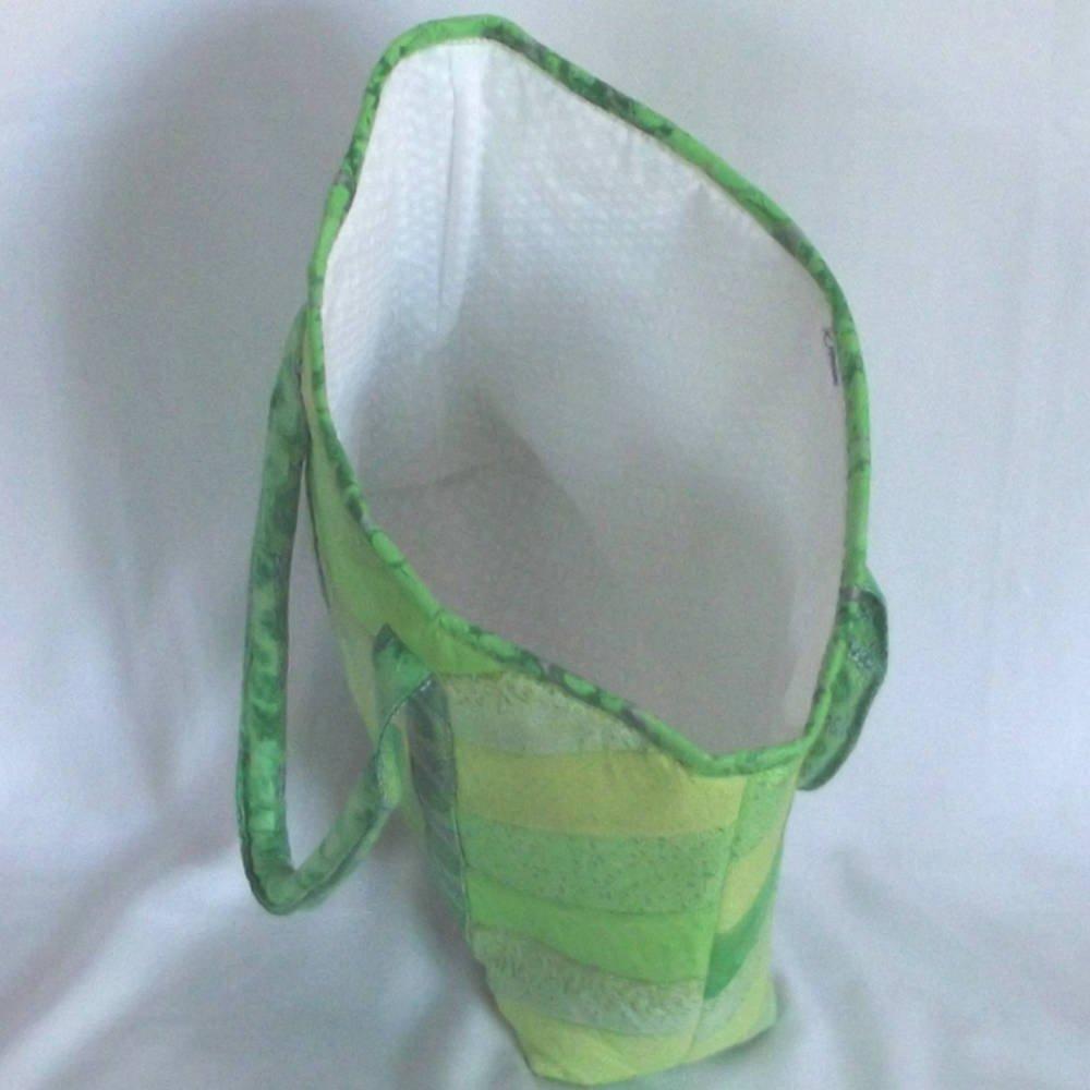 20401 inside green tote