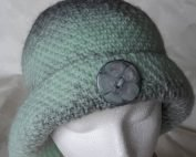 mint cloche button front