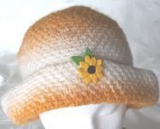 sunflower cloche front button